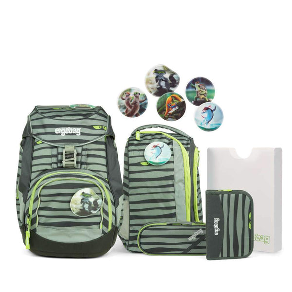 ergobag Pack School Bag 6-piece Set Super NinBear - ergokid Singapore