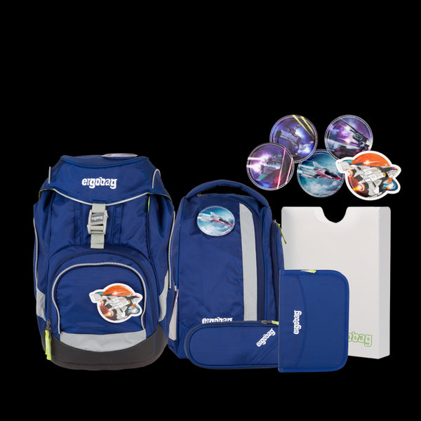 ergobag Pack Blue - ergokid Singapore