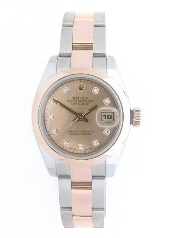 LADIES DATEJUST ROLEX WATCH | Neil's Jewellery and Exchange pre owned ladies gold watches, pre owned ladies gold Rolex, second hand diamond watches, second hand Rolex Datejust Watches