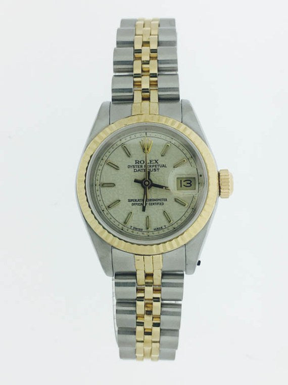 LADIES TWO-TONE DATEJUST ROLEX