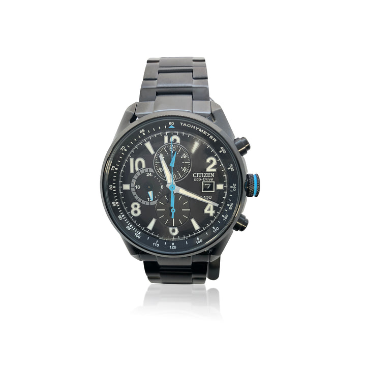 GENTS CHRONOGRAPH CITIZEN ECO-DRIVE WATCH