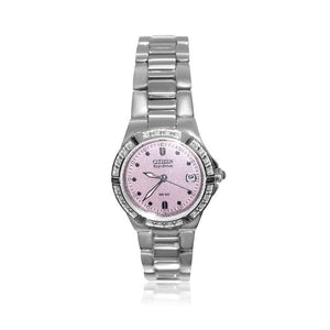 LADIES RIVA CITIZEN ECO-DRIVE WATCH WITH 24 DIAMONDS