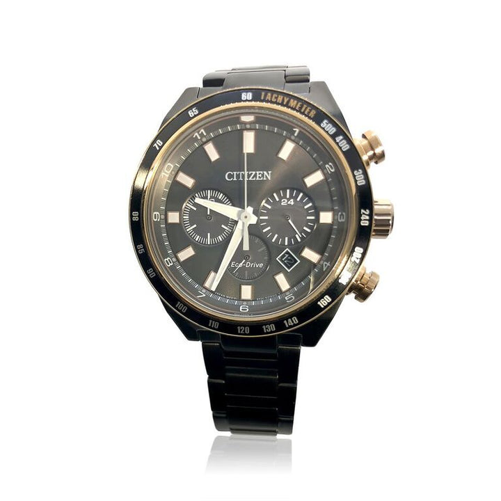 GENTS SPORT CHRONOGRAPH CITIZEN ECO-DRIVE WATCH