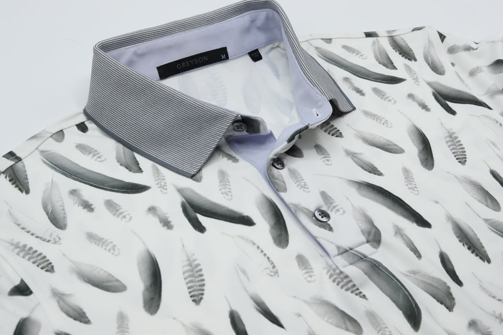 falling feathers polo greyson clothiers