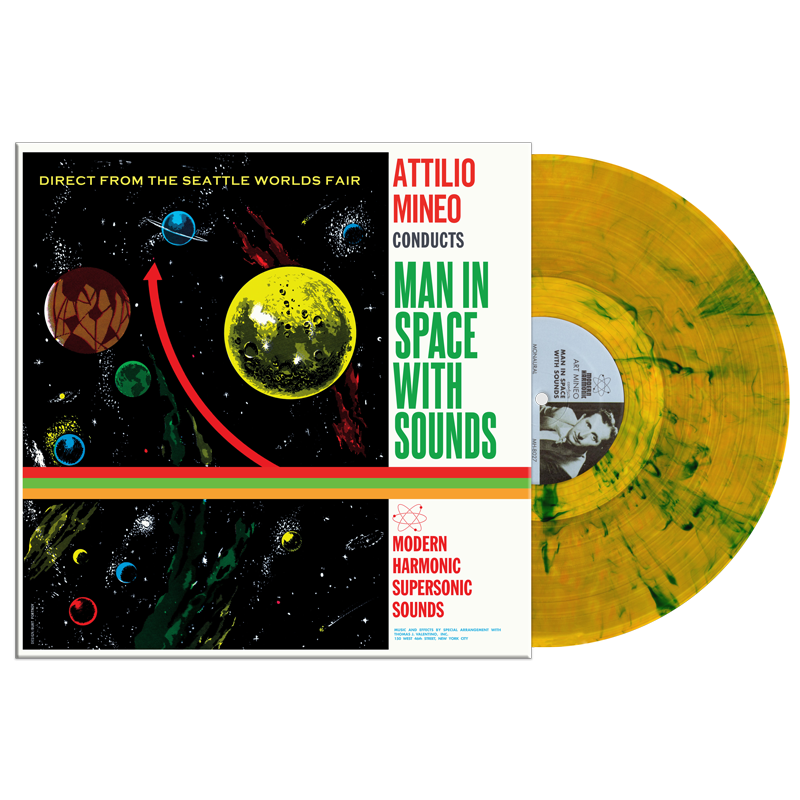 Attilo Mineo's Cult Futurism Album 'Man In Space With Sounds' To Be Reissued