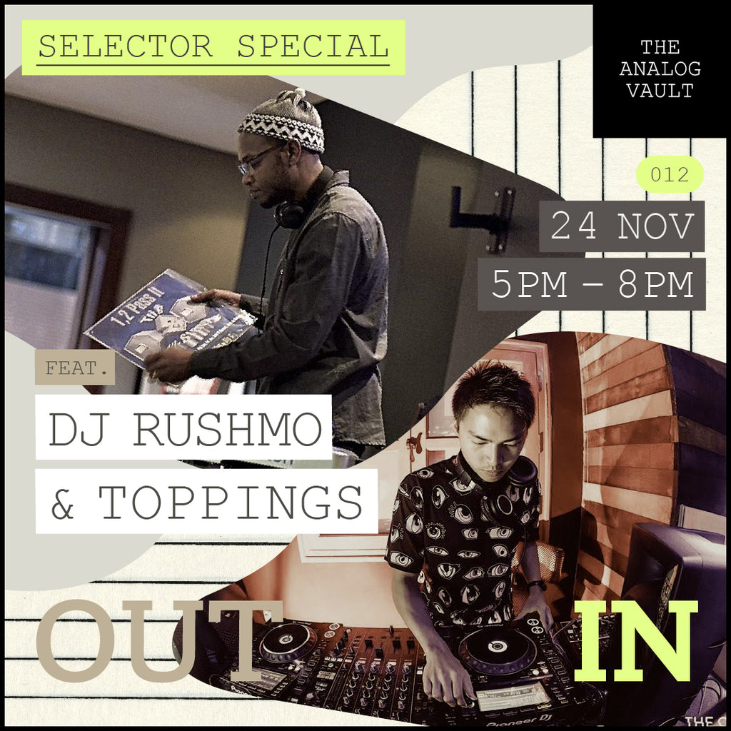 OutIn 012 - Selector Special ft. Toppings & DJ Rushmo