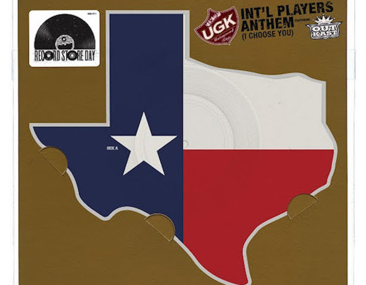 RSD 2016 Black Friday: UGK & Outkast's 'Int'l Players Anthem' Pressed On Texas Shaped Vinyl