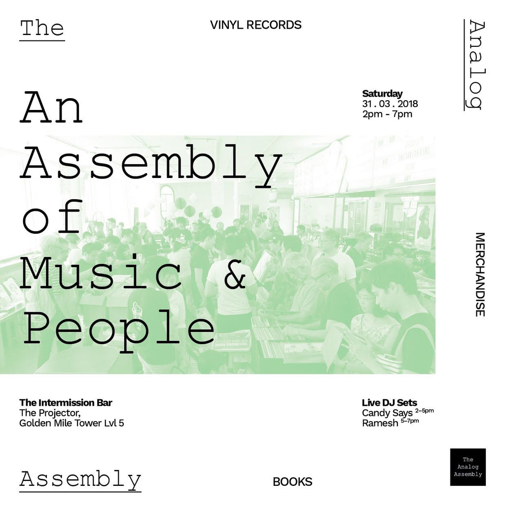The Analog Assembly returns for its 3rd Edition on 31st March 2018