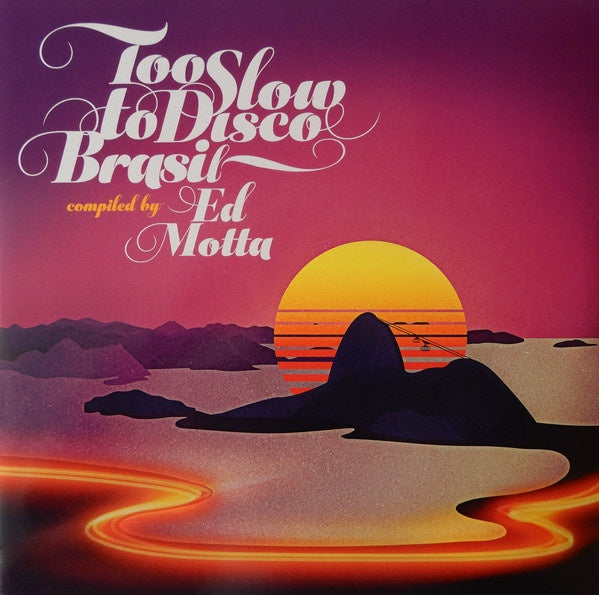 VA - Too Slow To Disco - Compiled By Ed Motta
