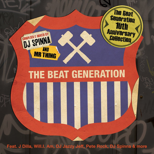 DJ Spinna And Mr Thing ‎– The Beat Generation 10th Anniversary Collection