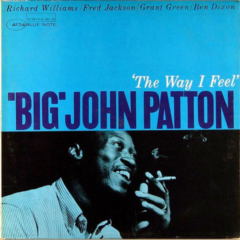 'Big' John Patton ‎– 'The Way I Feel'