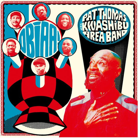 Pat Thomas And Kwashibu Area Band ‎– Obiaa!