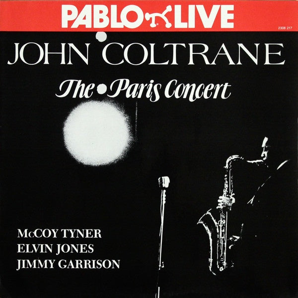 John Coltrane ‎– The Paris Concert