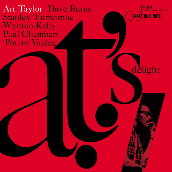 Art Taylor ‎– A.T.'s Delight | 80th Anniversary