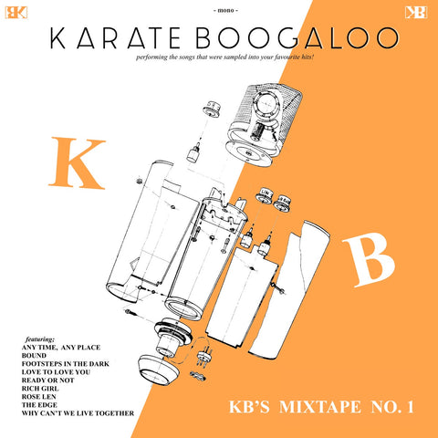 Karate Boogaloo ‎– KB's Mixtape No.1