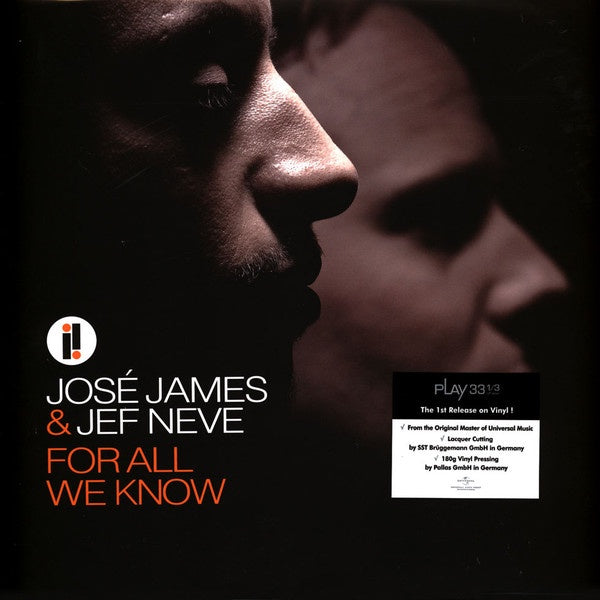 Jose James & Jef Neve - For All We Know