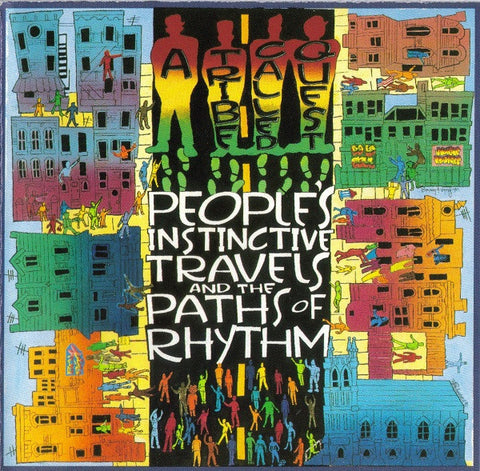 A Tribe Called Quest – People's Instinctive Travels and The Paths Of Rhythm | Vinyl record