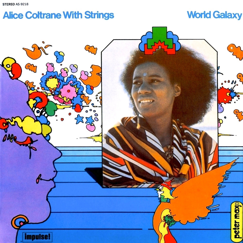 Alice Coltrane With Strings – World Galaxy | 2015 Reissue