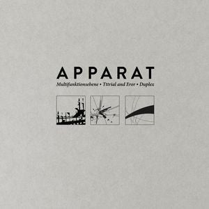 Apparat – Multifunktionsebene, Tttrial and Eror, Duplex | 3LP Package