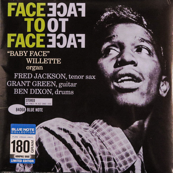 'Baby Face' Willette – Face To Face | 2016 Reissue