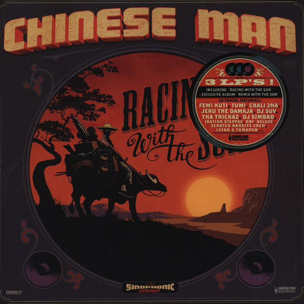 Chinese Man - Racing with the Sun | 3LP incl. remixes