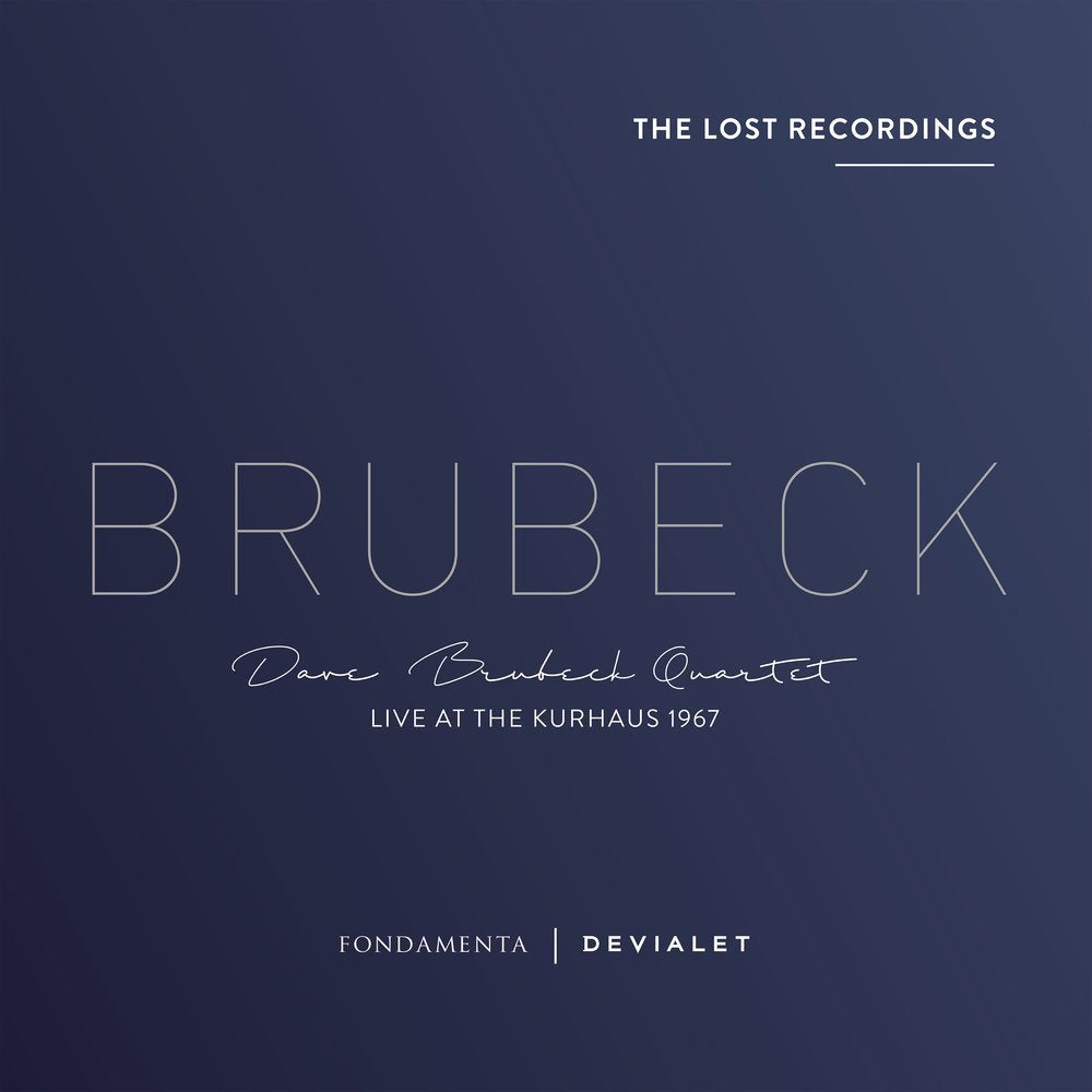 Dave Brubeck Quartet ‎– Live At The Kurhaus 1967| The Lost Recordings | Limited Edition