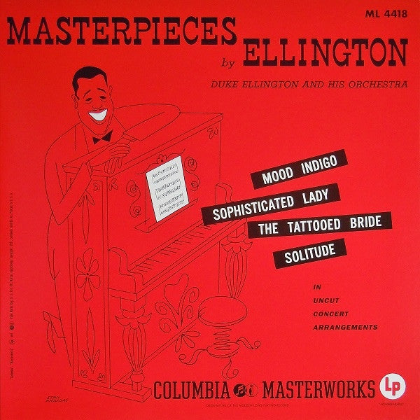 Duke Ellington - Masterpieces by Ellington | 200g LP Mono