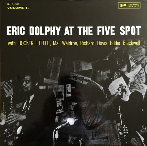Eric Dolphy – At The Five Spot, Volume 1. | 200g Analogue Production Reissue