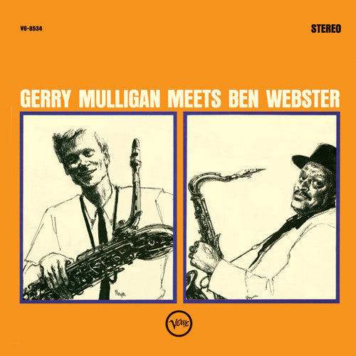 Gerry Mulligan & Ben Webster – Gerry Mulligan Meets Ben Webster | 45rpm 2LP