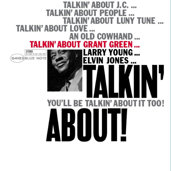 Grant Green ‎– Talkin' About | Music Matters Reissue