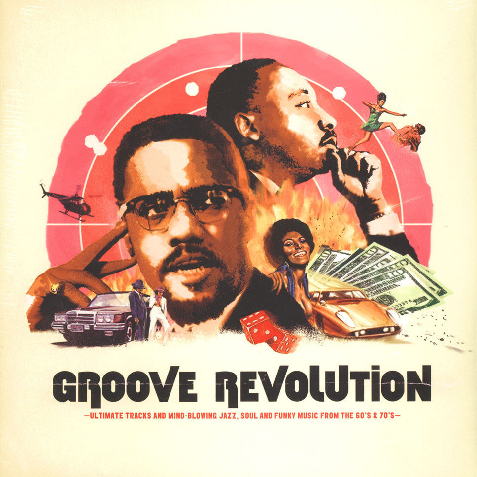 Groove Revolution - Definitive Cuts And Rare Jazz, Soul & Funky Tracks [Compilation]