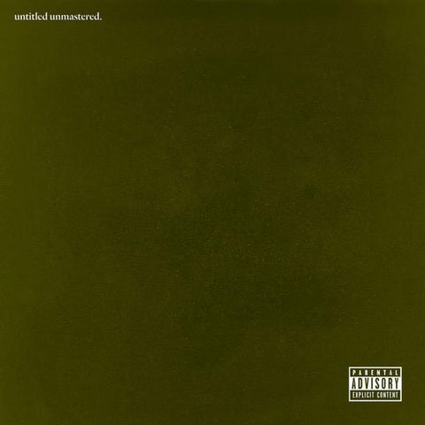 Kendrick Lamar - untitled unmastered.