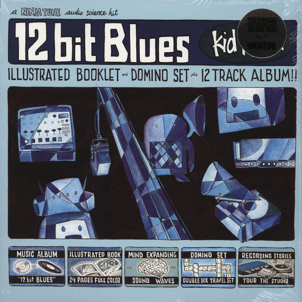 Kid Koala ‎– 12 Bit Blues