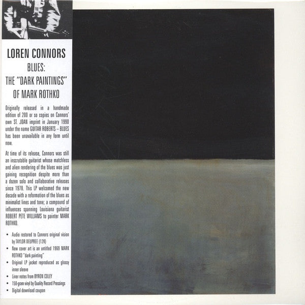 Loren Connors – Blues : The 'Dark Paintings' of Mark Rothko