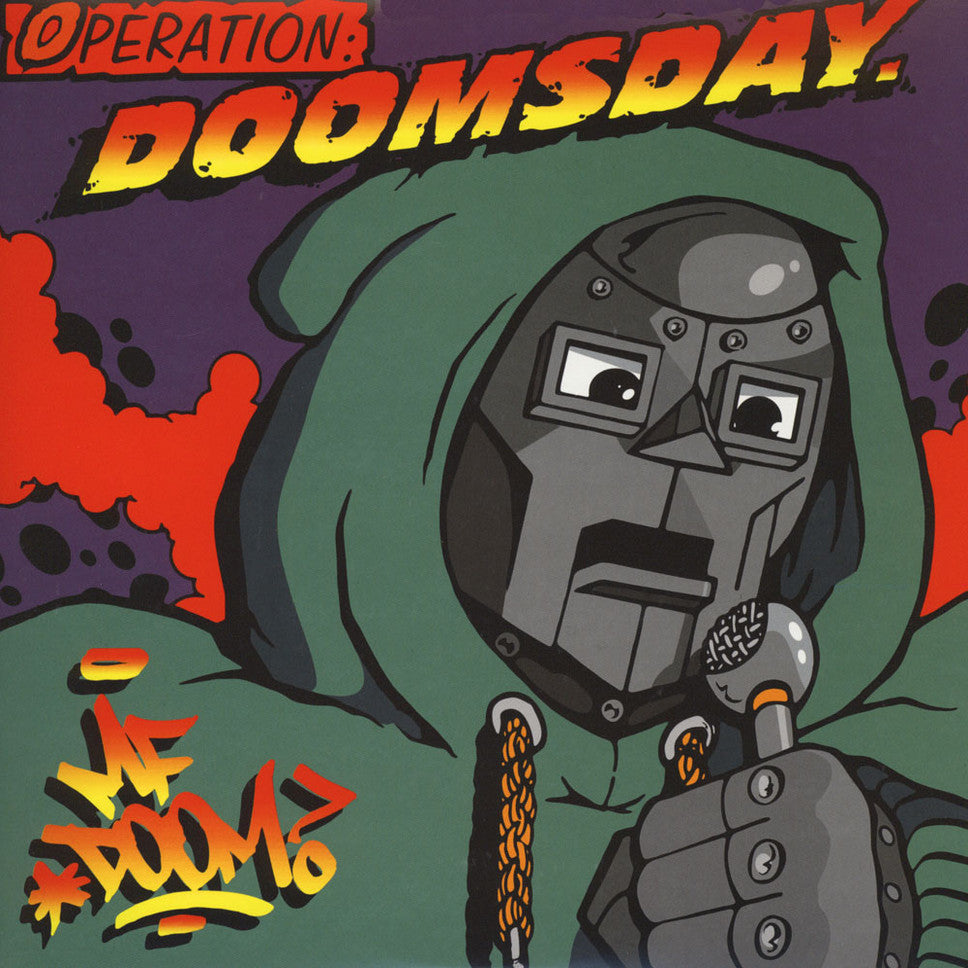 MF Doom ‎– Operation: Doomsday | Original Cover