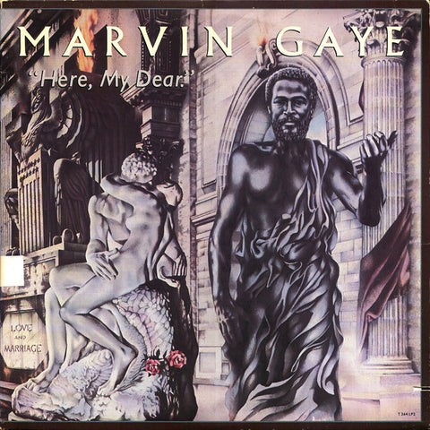 Marvin Gaye – Here, My Dear | 2016 Reissue | Back To Black Series