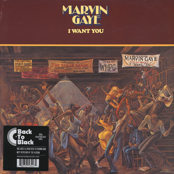 Marvin Gaye – I Want You | Back To Black Reissue
