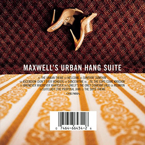 Maxwell ‎– Maxwell's Urban Hang Suite