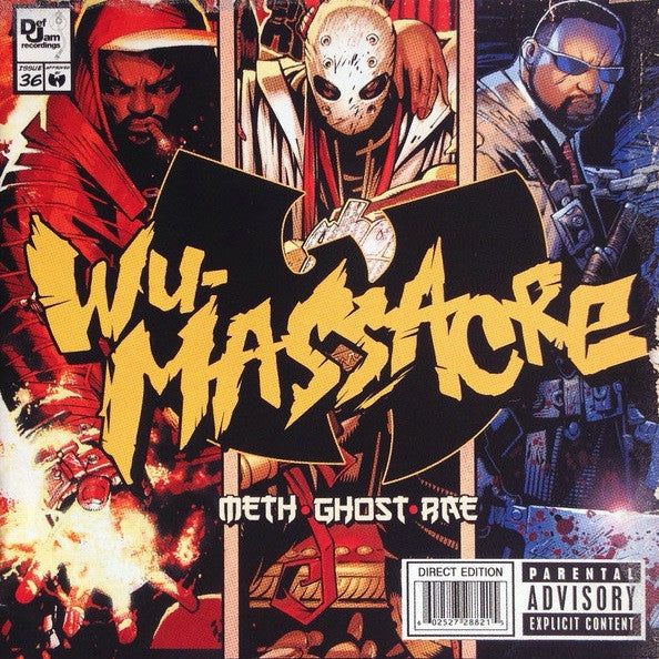 Method Man, Ghostface Killah, Raekwon - Wu-Massacre