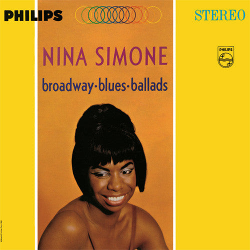 Nina Simone ‎– Broadway-Blues-Ballads