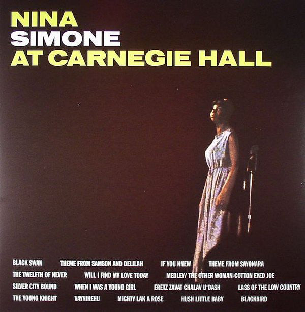 Nina Simone ‎– At Carnegie Hall