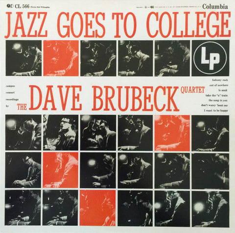 The Dave Brubeck Quartet ‎– Jazz Goes To College | 2015 Reissue