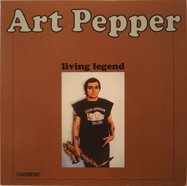 Art Pepper – Living Legend | 2015 Reissue