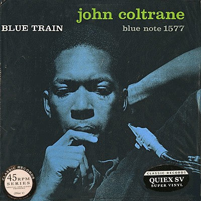 John Coltrane ‎– Blue Train | Classic Records 45rpm Reissue Series