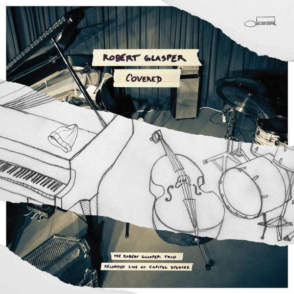 Robert Glasper ‎– Covered [The Robert Glasper Trio Recorded Live At Capitol Studios]