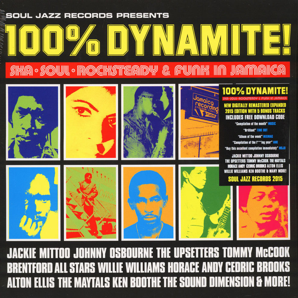 Soul Jazz Records - 100% Dynamite- Ska, Soul, Rocksteady and Funk in Jamaica [Compilation]