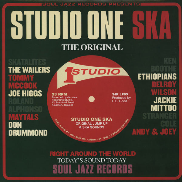 Soul Jazz Records - Studio One Ska [Compilation]