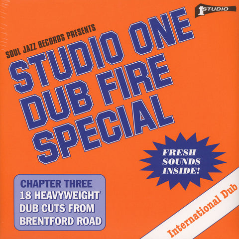 Soul Jazz Records – Studio One Dub Fire Special [Compilation]