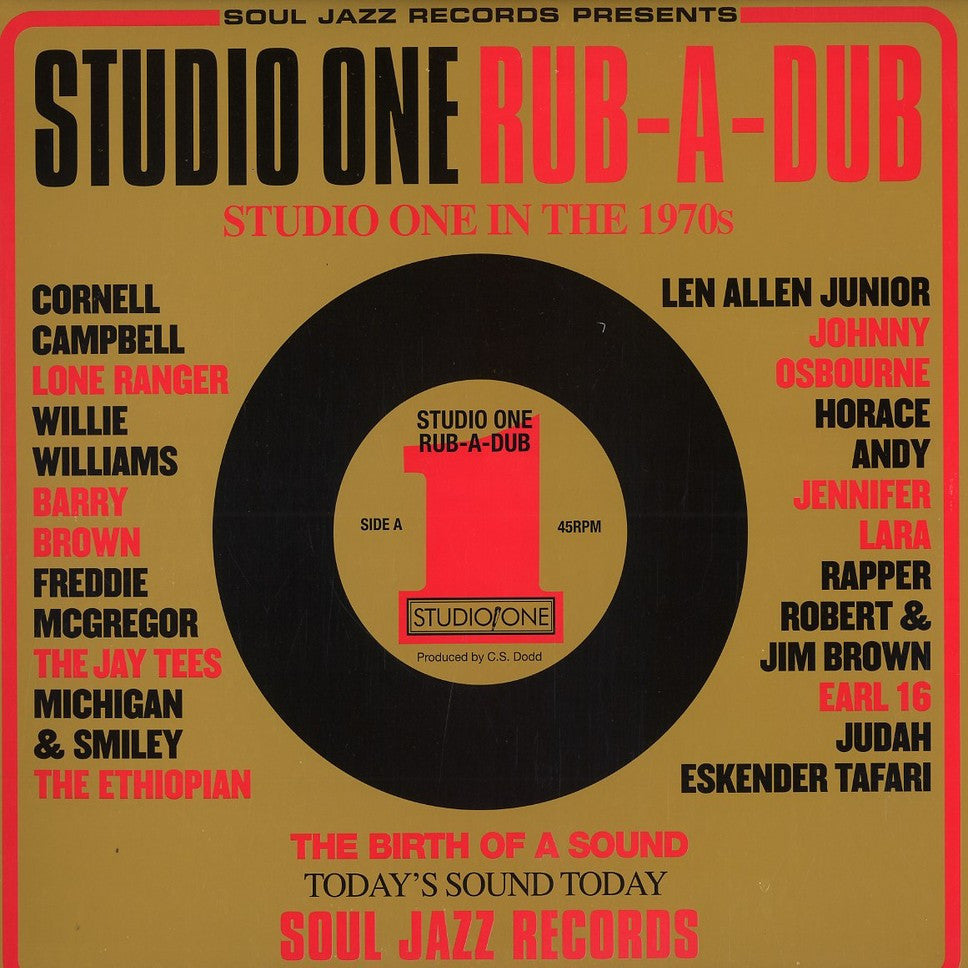 Soul Jazz Records – Studio One Rub-A-Dub [Compilation]