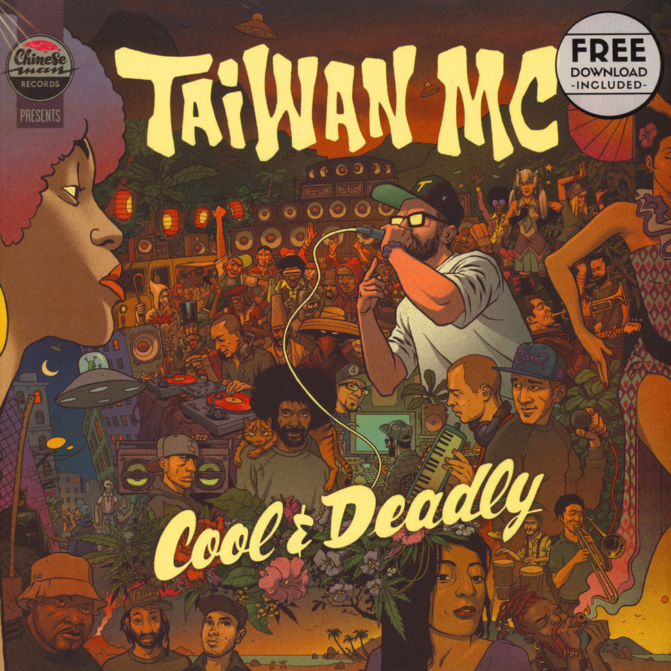 Taiwan MC ‎– Cool & Deadly